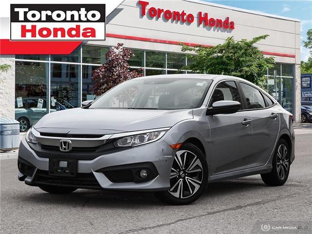 2017 Honda Civic Sedan w/Honda Sensing (Stk: H40439A) in Toronto - Image 1 of 27