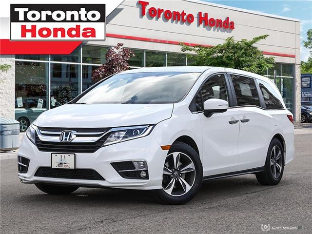 2018 Honda Odyssey w/Rear Entertainment System (Stk: H40458T) in Toronto - Image 1 of 27
