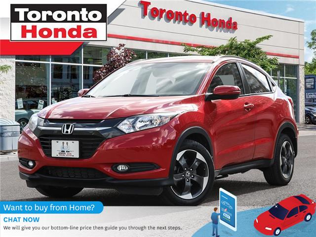 2018 Honda HR-V w/Navigation (Stk: H40449A) in Toronto - Image 1 of 27