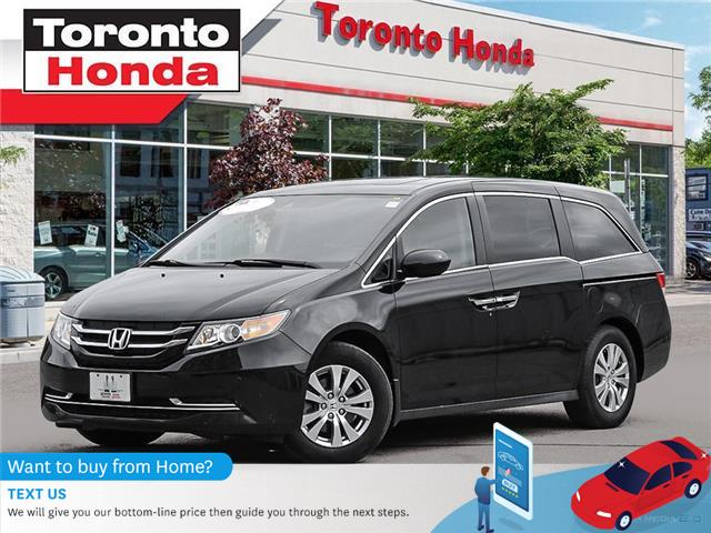 2017 Honda Odyssey w/Rear Entertainment System (Stk: H40510T) in Toronto - Image 1 of 27