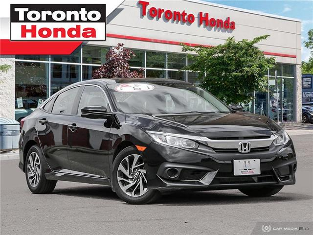 2018 Honda Civic Sedan w/Honda Sensing (Stk: H40445T) in Toronto - Image 1 of 27