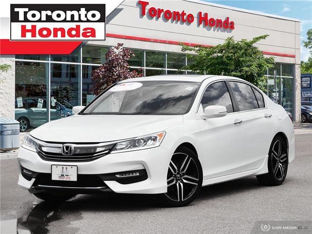 2017 Honda Accord Sedan SPORT (Stk: H40530T) in Toronto - Image 1 of 27