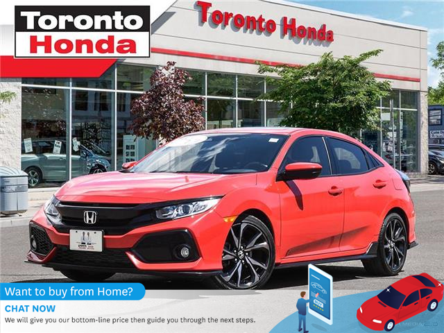 2018 Honda Civic Hatchback w/Honda Sensing (Stk: H40514T) in Toronto - Image 1 of 27