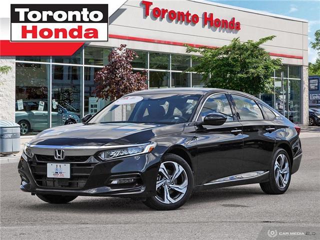 2018 Honda Accord Sedan EX-L LEATHER (Stk: H40555T) in Toronto - Image 1 of 27