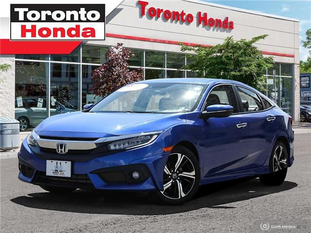 2018 Honda Civic Sedan Touring (Stk: H40507A) in Toronto - Image 1 of 27