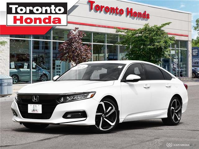 2019 Honda Accord Sedan Sport (Stk: H40565T) in Toronto - Image 1 of 27