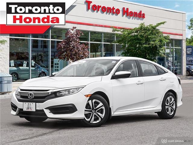 2017 Honda Civic Sedan  (Stk: H40573T) in Toronto - Image 1 of 27