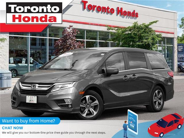 2018 Honda Odyssey Leather w/Navigation (Stk: H40534T) in Toronto - Image 1 of 27