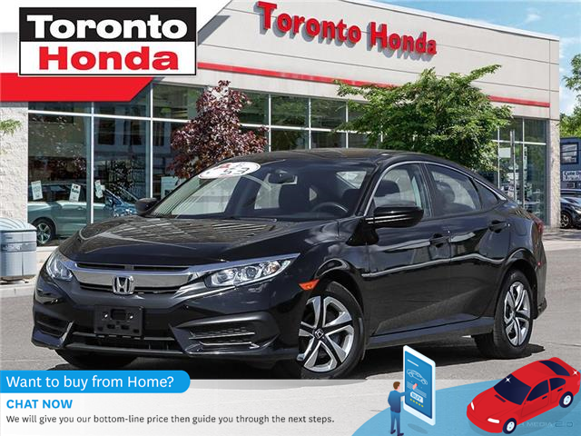 2018 Honda Civic Sedan  (Stk: H40453T) in Toronto - Image 1 of 27