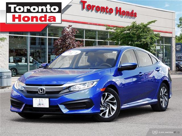 2016 Honda Civic Sedan  (Stk: H40521P) in Toronto - Image 1 of 27
