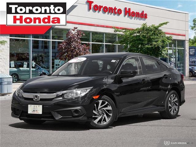 2018 Honda Civic Sedan SE w/Honda Sensing PUSH START (Stk: H40548T) in Toronto - Image 1 of 27