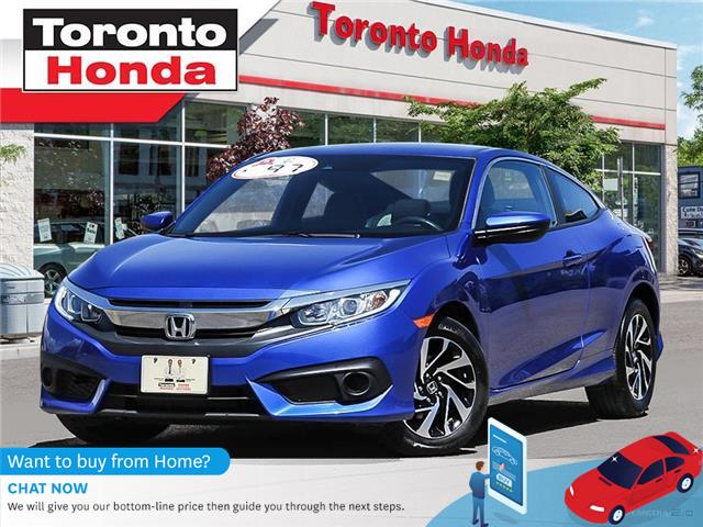 2018 Honda Civic Coupe w/Honda Sensing (Stk: H40493A) in Toronto - Image 1 of 27