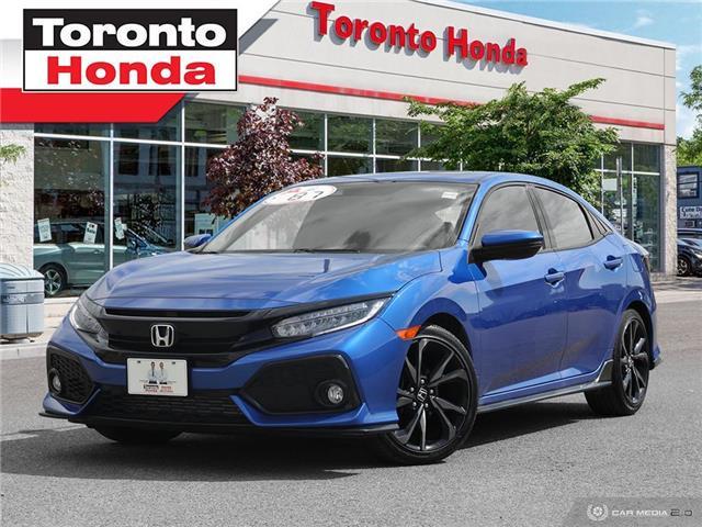 2018 Honda Civic Hatchback sport touring hatchback (Stk: H40544A) in Toronto - Image 1 of 27