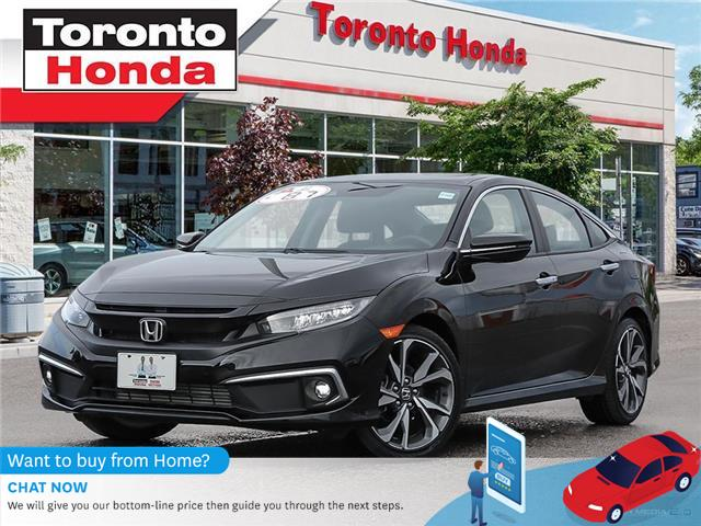 2019 Honda Civic Sedan Touring (Stk: H40540A) in Toronto - Image 1 of 27