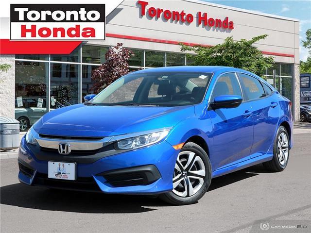 2018 Honda Civic Sedan LX (Stk: H40644T) in Toronto - Image 1 of 24