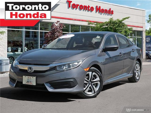 2018 Honda Civic Sedan LX ONE OWNER (Stk: H40632A) in Toronto - Image 1 of 24