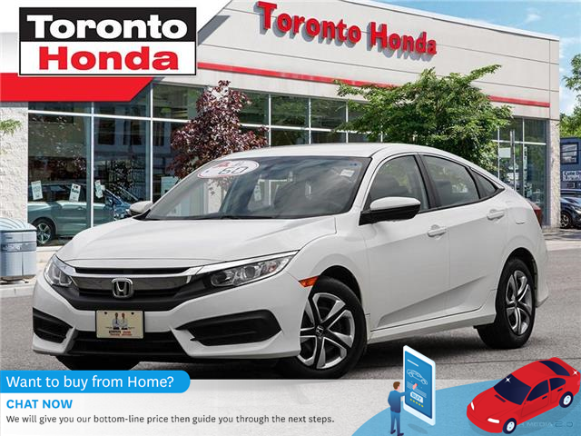 2018 Honda Civic Sedan LX (Stk: H40625A) in Toronto - Image 1 of 28