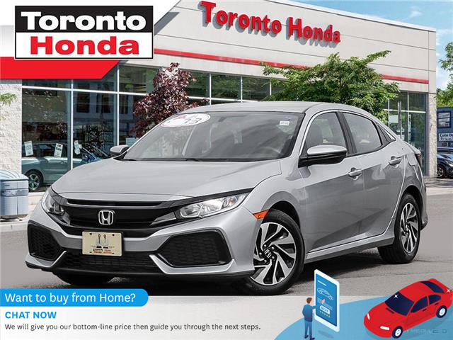 2018 Honda Civic Hatchback LX Hatchback (Stk: H40646T) in Toronto - Image 1 of 27