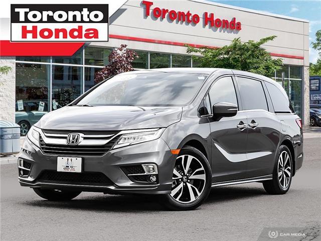2019 Honda Odyssey Touring Like New!!! (Stk: H40680T) in Toronto - Image 1 of 27