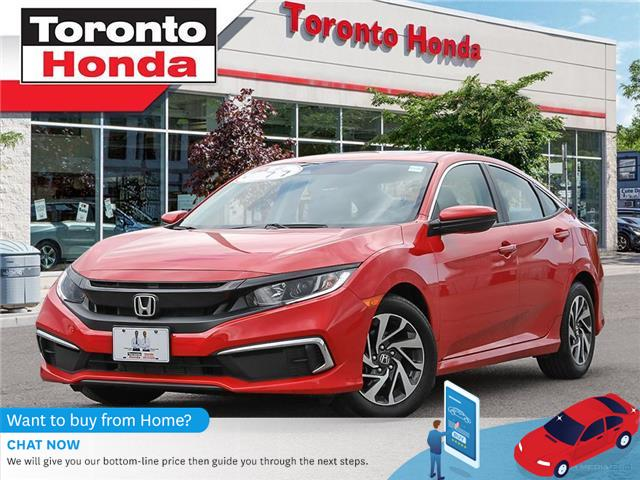 2019 Honda Civic Sedan EX (Stk: H40689P) in Toronto - Image 1 of 27