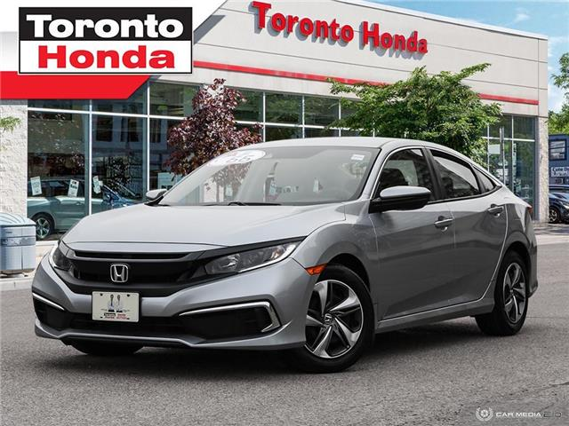 2019 Honda Civic Sedan LX Low Interest Rate!!! (Stk: H40593T) in Toronto - Image 1 of 26