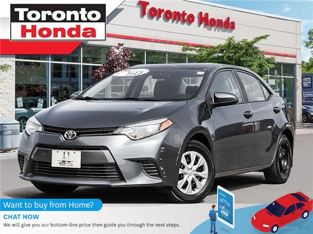 2015 Toyota Corolla LE (Stk: H40693T) in Toronto - Image 1 of 27