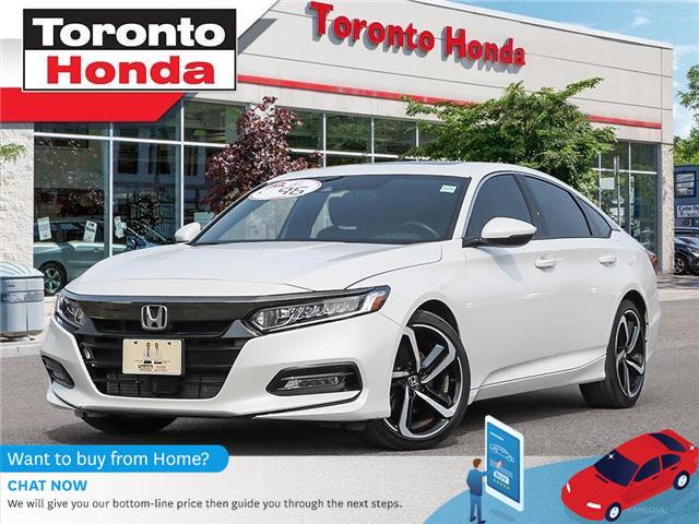 2018 Honda Accord Sedan 2.OT Honda Sensing (Stk: H40701T) in Toronto - Image 1 of 27