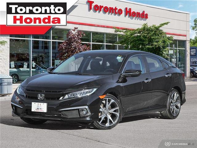 2019 Honda Civic Sedan TOURING (Stk: H40742A) in Toronto - Image 1 of 28
