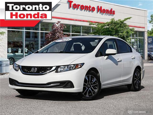 2015 Honda Civic Sedan EX $59 PER WEEK WITH $0 DOWN!! (Stk: H40748A) in Toronto - Image 1 of 27