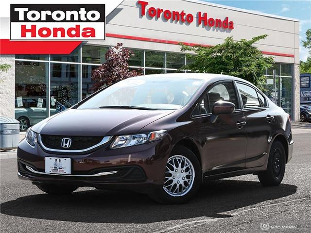 2015 Honda Civic Sedan LX (Stk: H40664T) in Toronto - Image 1 of 27