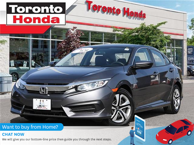 2017 Honda Civic Sedan LX $500 Pre-Paid VISA-Black Friday Special (Stk: H40762P) in Toronto - Image 1 of 27
