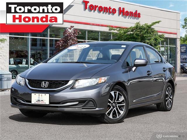 2014 Honda Civic Sedan EX Roof (Stk: H40753T) in Toronto - Image 1 of 26