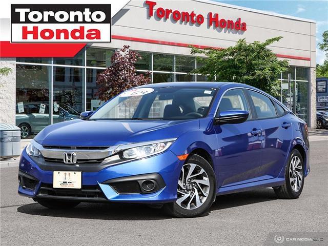 2018 Honda Civic Sedan se w/Honda Sensing (Stk: H40766T) in Toronto - Image 1 of 27