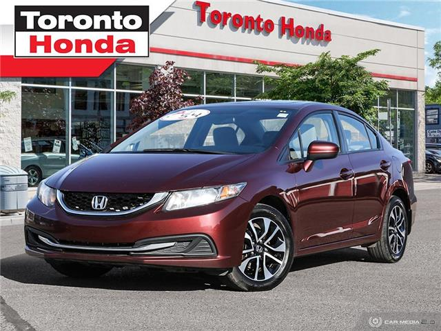 2015 Honda Civic Sedan EX (Stk: H40752A) in Toronto - Image 1 of 27