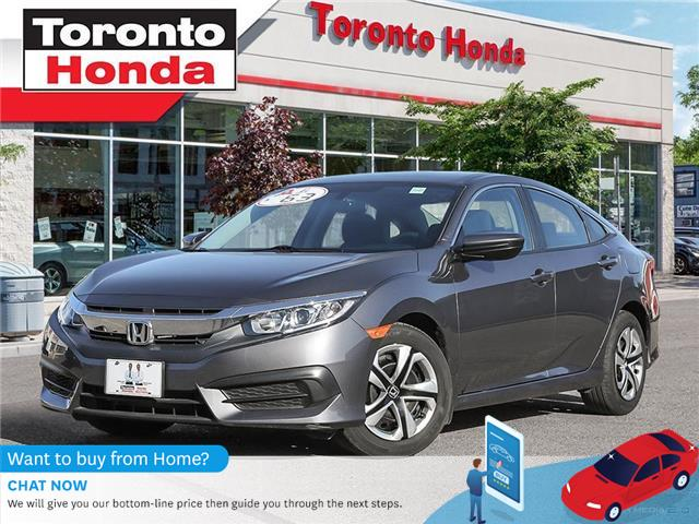 2018 Honda Civic Sedan LX (Stk: H40750T) in Toronto - Image 1 of 27