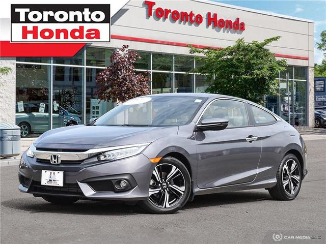 2018 Honda Civic Coupe TOURING 2dr (Stk: H40781P) in Toronto - Image 1 of 27
