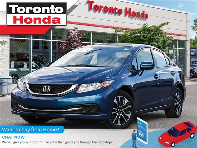 2015 Honda Civic Sedan EX (Stk: H40806A) in Toronto - Image 1 of 27