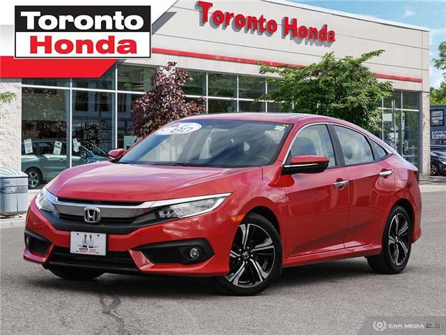 2018 Honda Civic Sedan Touring $500 Pre-Paid VISA-Black Friday Special (Stk: H40814T) in Toronto - Image 1 of 28
