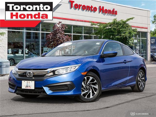 2016 Honda Civic Coupe LX Manual Coupe (Stk: H40841P) in Toronto - Image 1 of 27