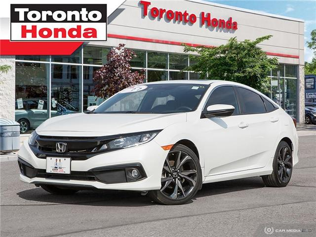 2019 Honda Civic Sedan Sport Low interest Rate!!! (Stk: H40835T) in Toronto - Image 1 of 27