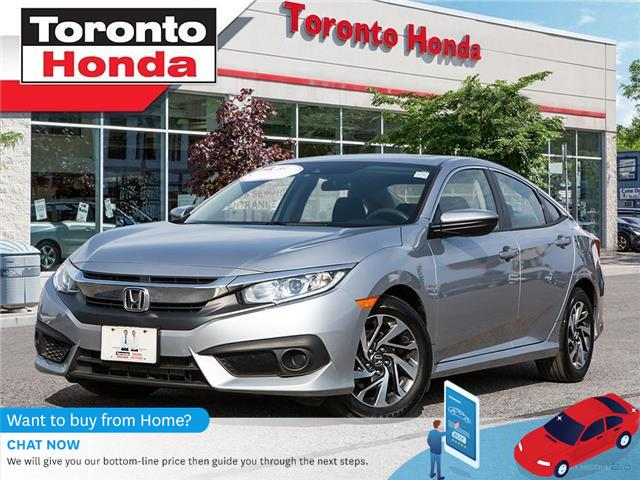 2017 Honda Civic Sedan EX (Stk: H40847P) in Toronto - Image 1 of 28