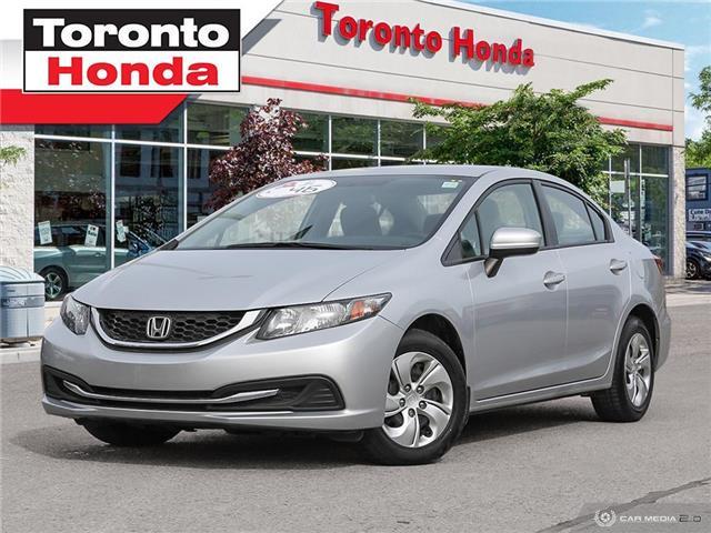 2015 Honda Civic Sedan LX (Stk: H40865A) in Toronto - Image 1 of 27