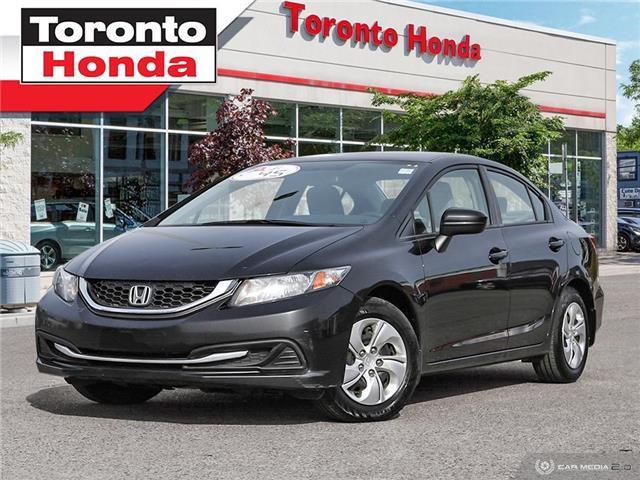 2015 Honda Civic Sedan LX (Stk: H40866A) in Toronto - Image 1 of 26