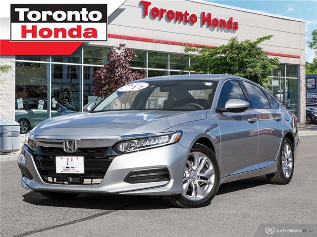 2018 Honda Accord Sedan LX Low Interest Rate!!! (Stk: H40872T) in Toronto - Image 1 of 27