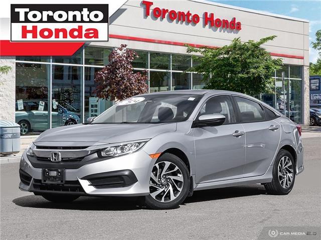 2016 Honda Civic Sedan EX $500 Pre-Paid VISA-Black Friday Special (Stk: H40875A) in Toronto - Image 1 of 27