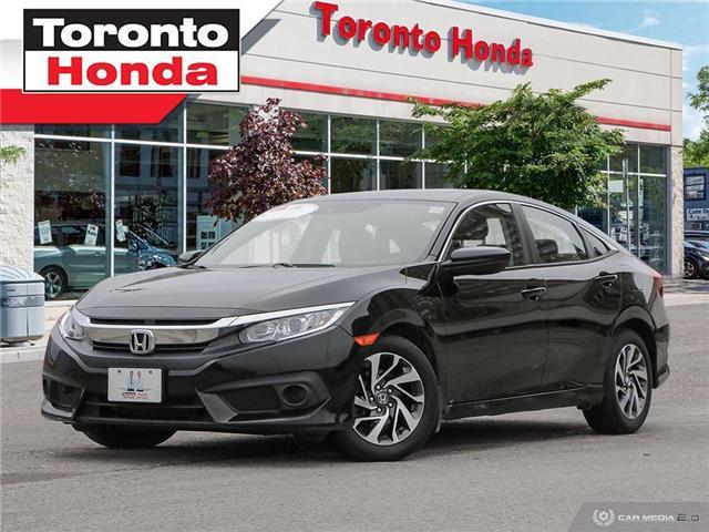 2018 Honda Civic Sedan EX (Stk: H40901T) in Toronto - Image 1 of 27