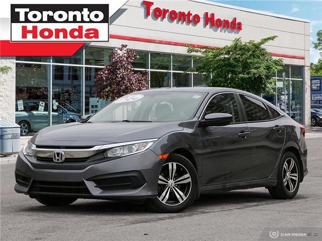 2016 Honda Civic Sedan LX (Stk: H40885A) in Toronto - Image 1 of 27