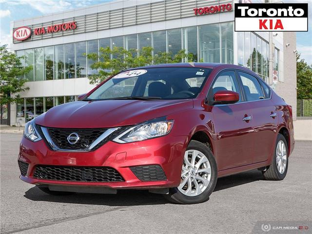 2017 Nissan Sentra SV $500 Pre-Paid VISA-Black Friday Special (Stk: K32187A) in Toronto - Image 1 of 28