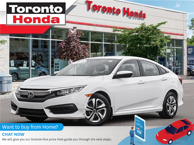 2017 Honda Civic Sedan LX $500 Pre-Paid VISA-Black Friday Special (Stk: H40953A) in Toronto - Image 1 of 27