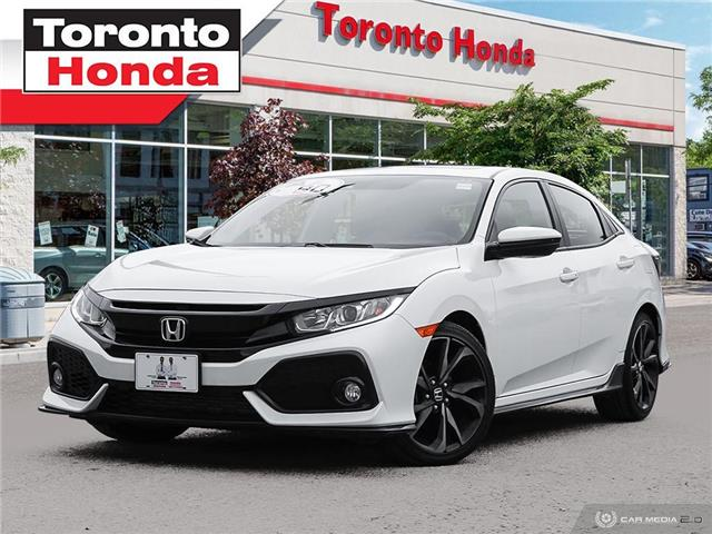 2018 Honda Civic Hatchback SPORT $500 Pre-Paid VISA-Black Friday Special (Stk: H40963A) in Toronto - Image 1 of 27